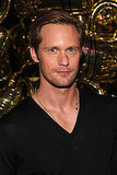 Alexander Skarsgard parties with Mulberry.