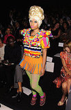 Nicki Minaj brought her bold signature style to Carolina Herrera.