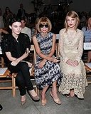 All the Front Row Action From New York Fashion Week