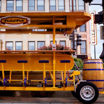 Deal For Chicago Bar Crawl on the Pedal Pub
