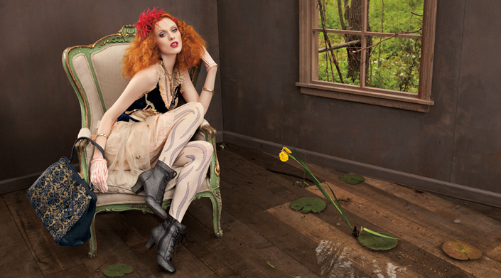 Karen Elson for Nine West Vintage America