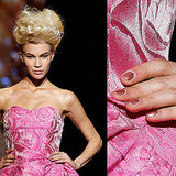 Watch Out: A Rolex Inspires the Nails at Badgley Mischka