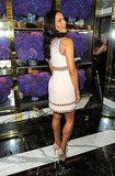Paula Patton at Tory Burch opening in NYC.