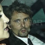 Matt Bellamy leaves Stella McCartney's 40th birthday party.