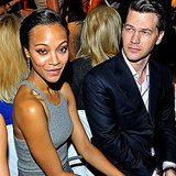 Zoe Saldana and Keith Britton
