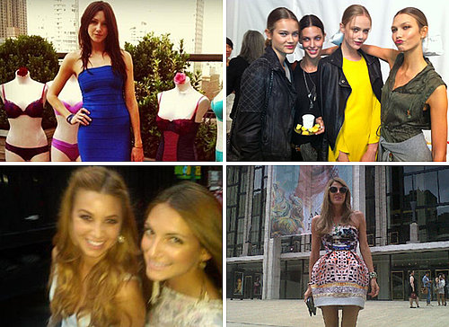 Pictures of Models, Celebrities and the Runway at 2012 Spring New York Fashion Week. See Rachel Zoe, Victoria Beckham and more!