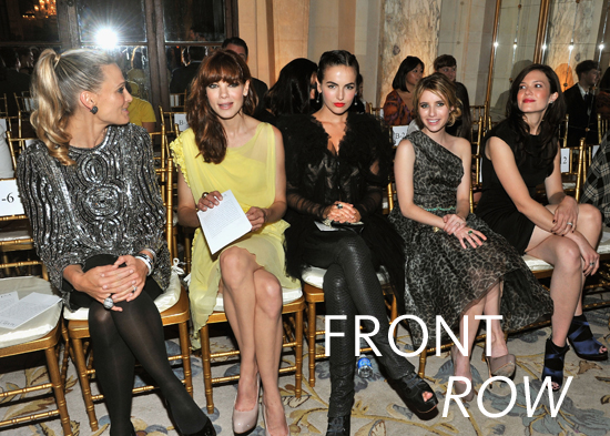 2012 S/S New York Fashion Week: Celeb Spotting, Round 4!