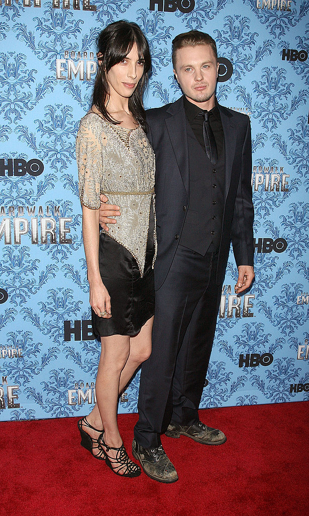 Michael Pitt and Jamie Bochert hit the red carpet in NYC for the premiere of Boardwalk Empire.