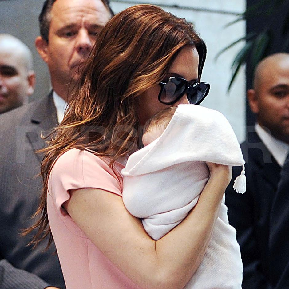 Victoria Beckham and daughter, Harper Seven Beckham.