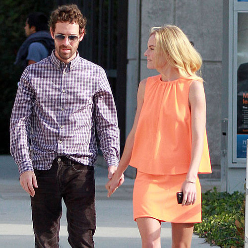 Kate Bosworth and Boyfriend Michael Polish Pictures at Chelsea Lately