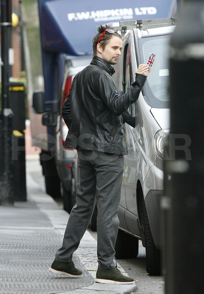 Matt Bellamy in London.