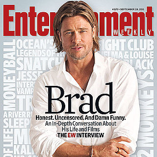 Brad Pitt on Angelina Jolie in EW Magazine