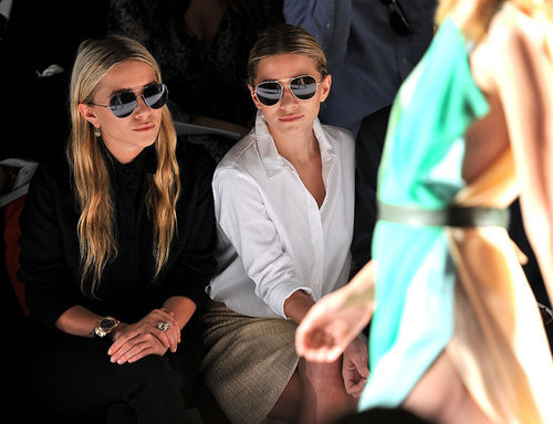 Pictures of Celebrities Front Row at 2012 Spring New York Fashion Week