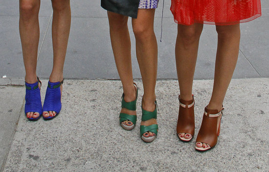 40 Eye-Catching Shoes from the Streets of New York Fashion Week