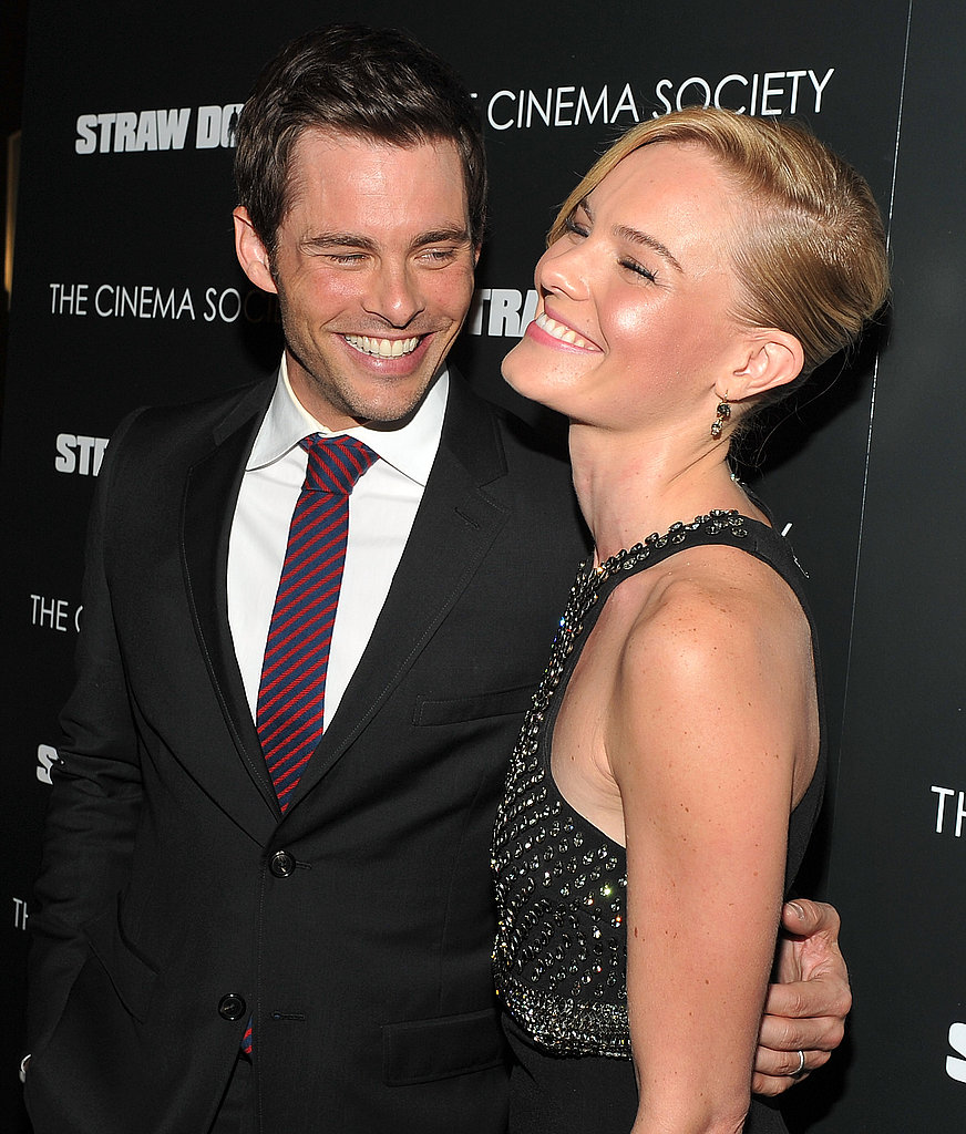Kate Bosworth and James Marsden together.