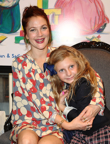 Emmy Presenter Drew Barrymore Celebrates and Gets Cozy With Will Kopelman's Family
