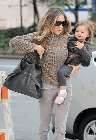 City Girls Sarah Jessica Parker and Tiny Tabitha Test Drive Their Fall Wardrobes
