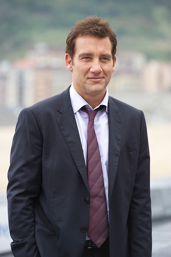 Clive Owen at the San Sebastian Film Festival.