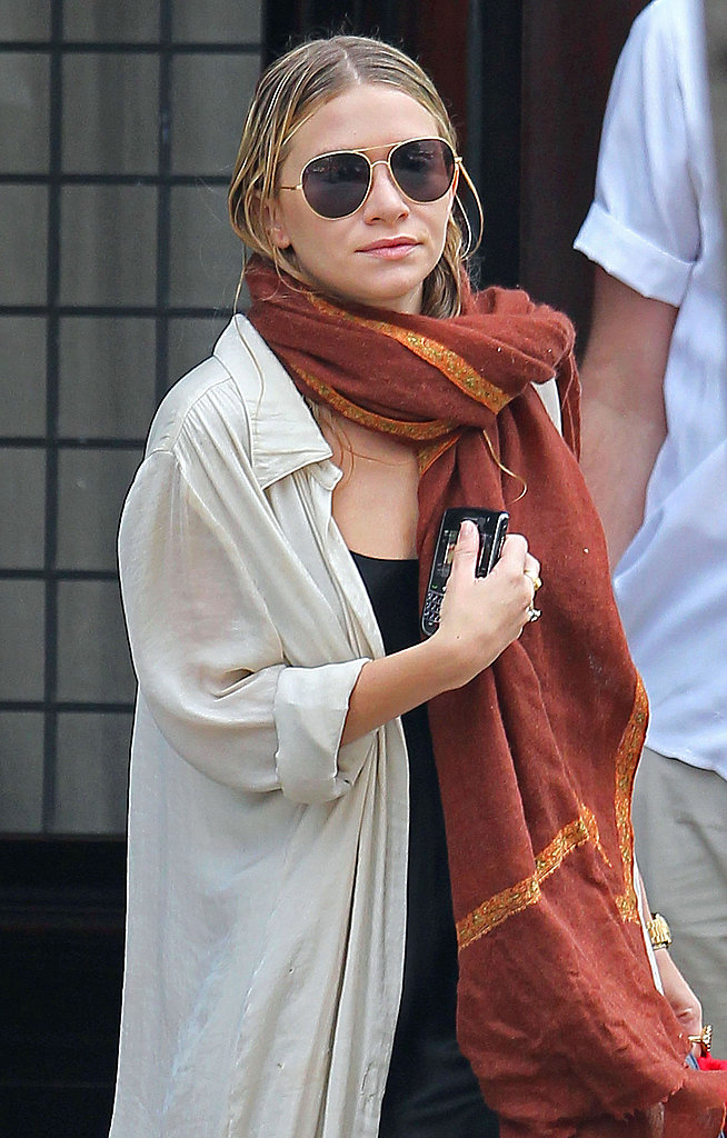 Mary-Kate Olsen Wraps Up Another Fashion Week in Style