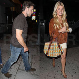 Jessica Simpson Has Ashlee and Vincent on Hand to Celebrate Eric Johnson's 32nd!