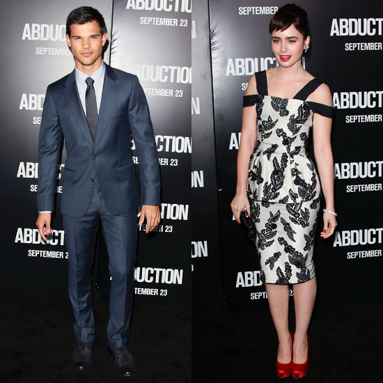 Taylor and Lily Premiere Abduction With Special Guests Justin and Selena