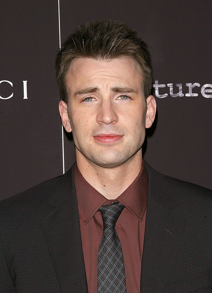 Handsome Chris Evans.