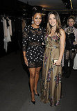 Sophia Bush and LaLa Vazquez at Fashion's Night Out.
