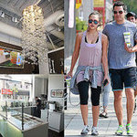 Jessica Alba at BodyFactory in LA (Pictures)