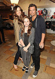 Kate Beckinsale, Lily Sheen and Len Wiseman