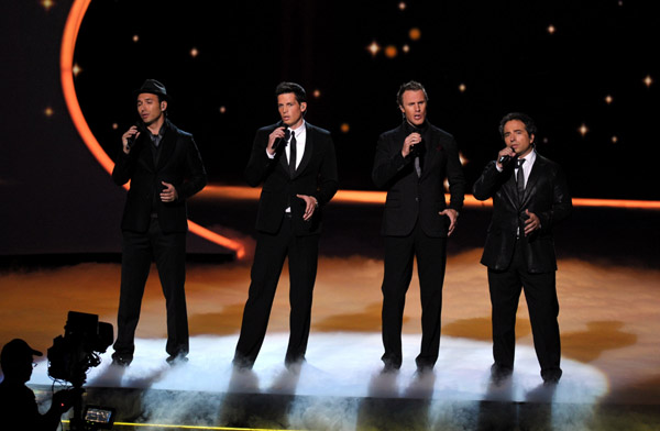 "The Canadian Tenors Sing ""Hallelujah"""