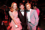 Jayma Mays, Kevin McHale, and Adam Campbell hung out at the HBO Emmy afterparty.