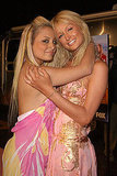 Nicole Richie and Paris Hilton shared a hug at an LA party celebrating The Simple Life 2 in April 2004.