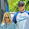 Eric Johnson and Jessica Simpson at a Market Pictures