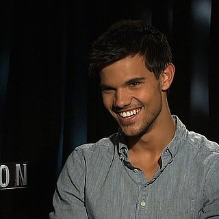 Taylor Lautner Interview on Abduction and Lily Collins