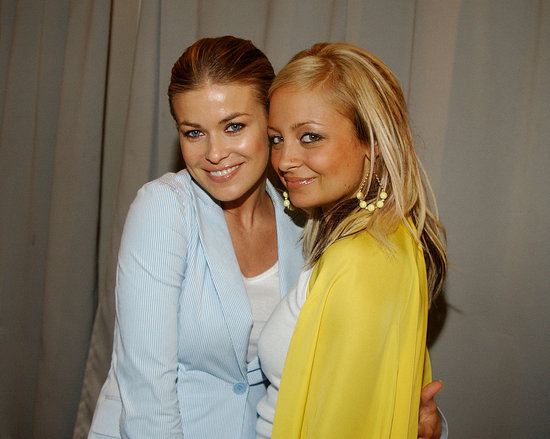 Carmen Electra joined Nicole Richie at a May 2004 Art of Elysium event in Beverly Hills.