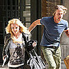 Britney Spears &amp; Jason Trawick Filming Criminal Video Pictures