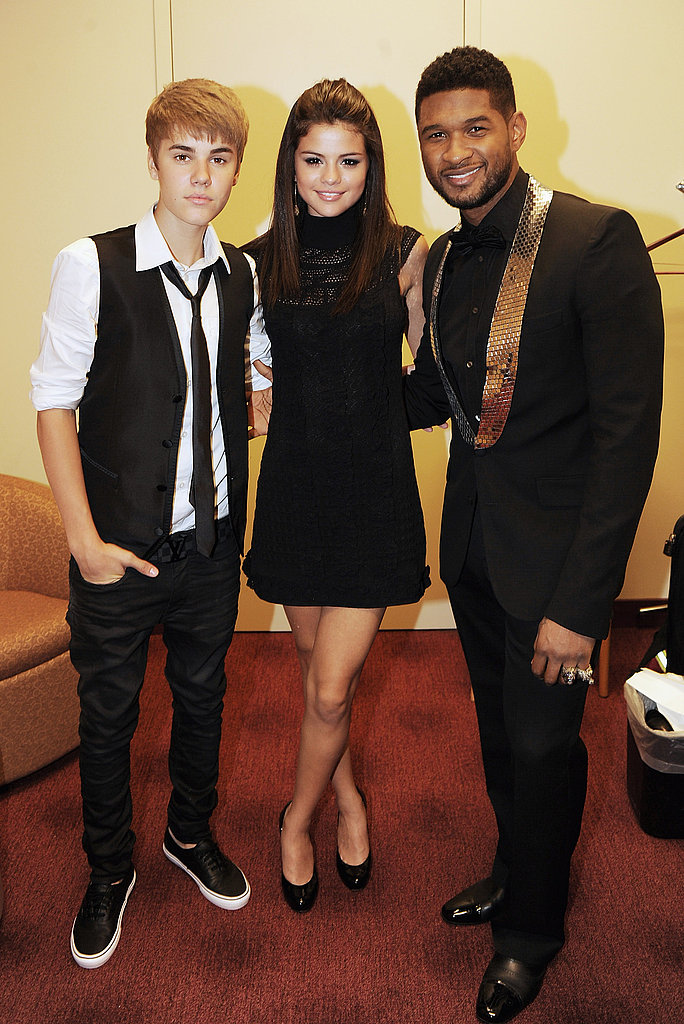 Justin Bieber Has Selena Gomez and Usher's Support at the Georgia Hall of Fame Awards