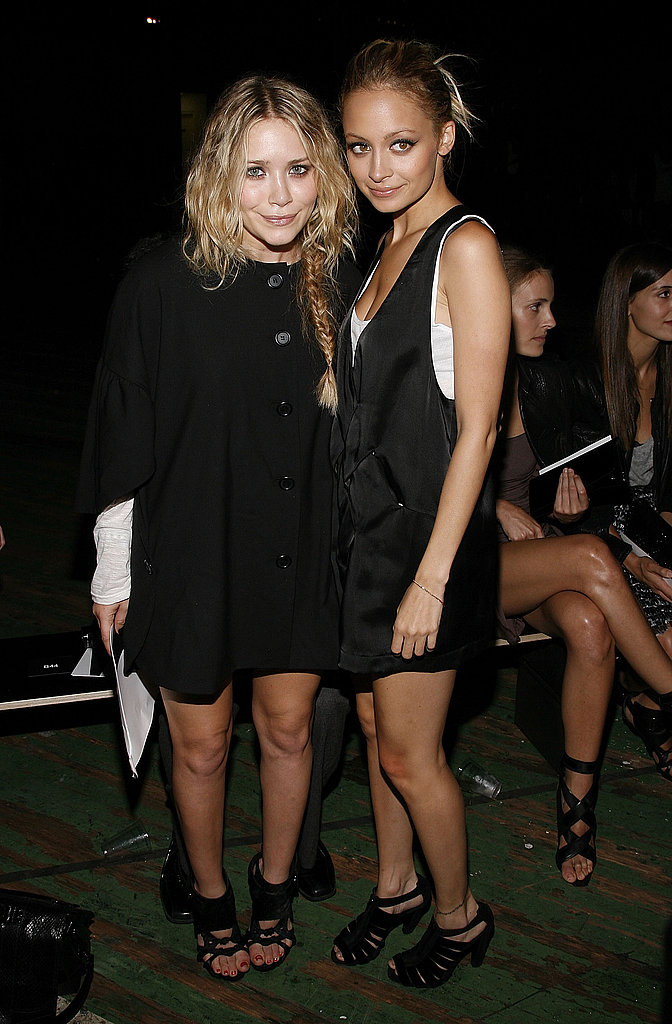 Mary-Kate Olsen and Nicole Richie were both among the well-dressed stars at Proenza Schouler's September 2008 New York Fashion Week show.