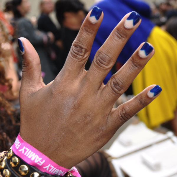 Street Style Manicures at London Fashion Week Spring 2012