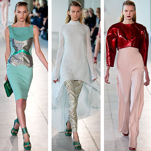 Antonio Berardi Spring 2012 London Fashion Show