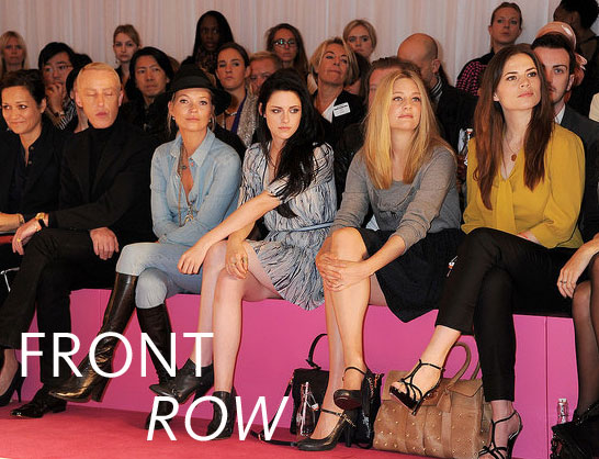 2012 London S/S Fashion Week: The Front Row