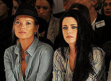 Pictures of Celebrities and Models at 2012 Spring London Fashion Week Feat. Kate Moss, Kristen Stewart, Bonnie Wright and More!