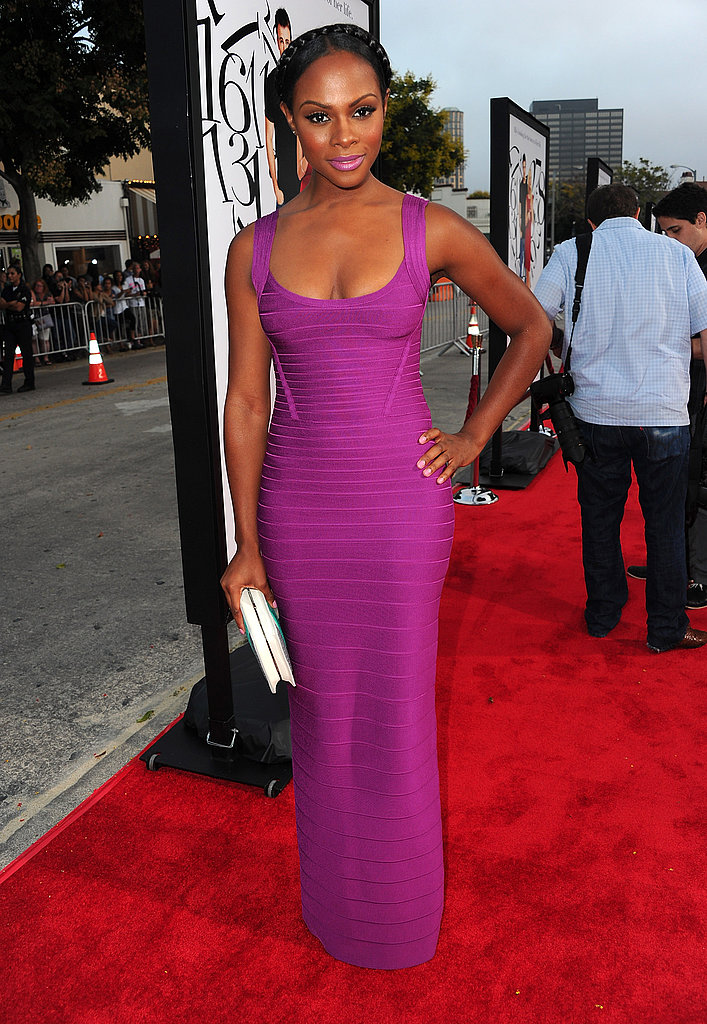 Tika Sumpter poses on the red carpet.