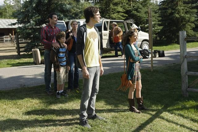 Reid Ewing as Dylan on Modern Family.  Photo copyright 2011 ABC, Inc.