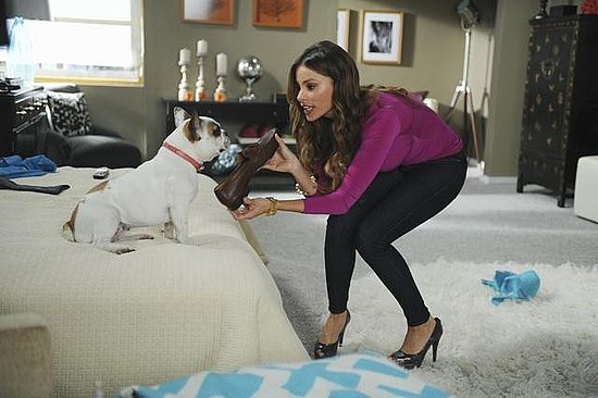 Sofia Vergara as Gloria on Modern Family. Photo copyright 2011 ABC, Inc.