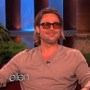 Brad Pitt Talking About Marrying Angelina Jolie on Ellen