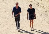 Ryan Gosling and Eva Mendes have a day date.