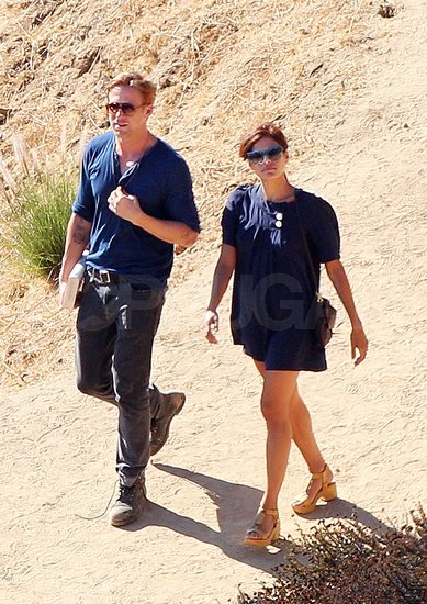 Ryan Gosling and Eva Mendes Have a Scenic LA Day Date