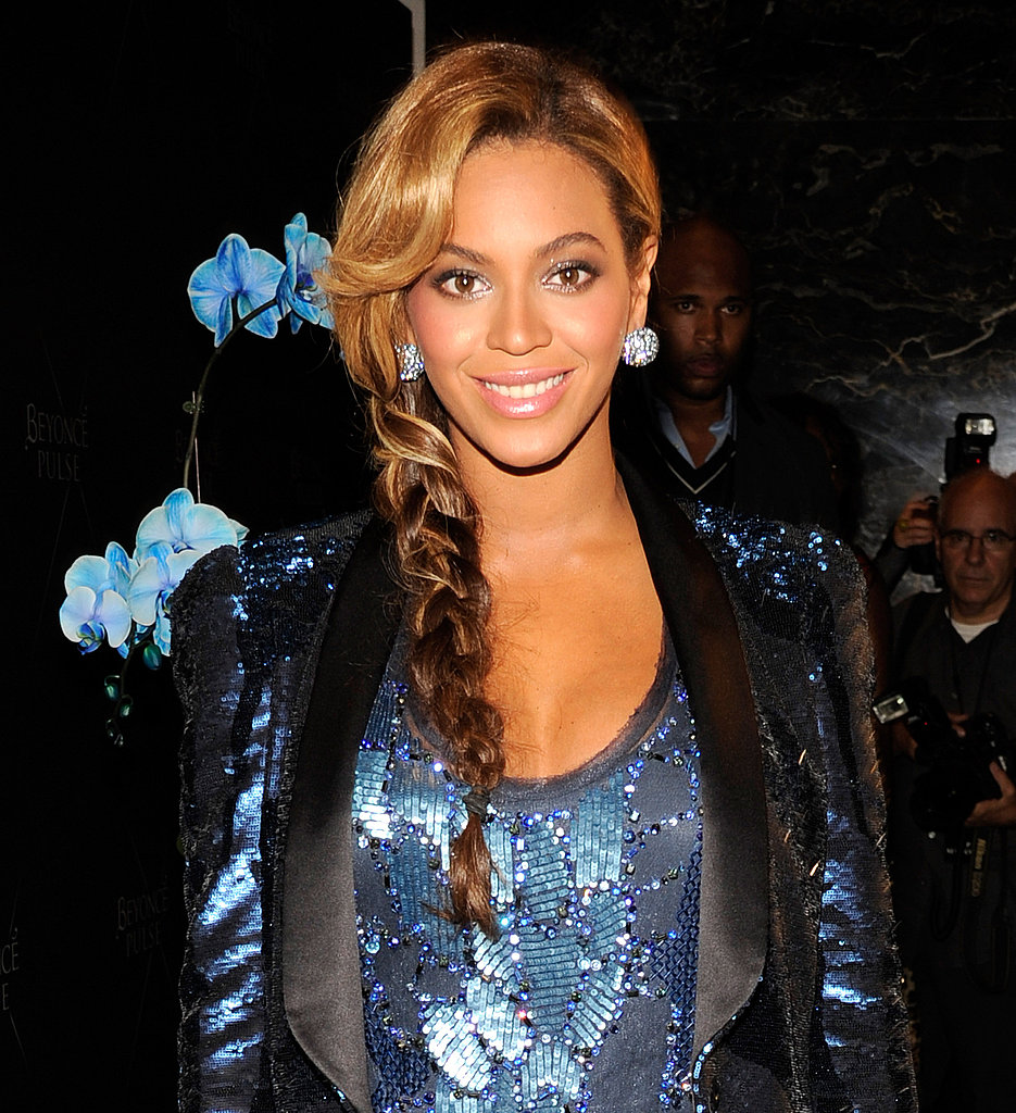 Pregnant Beyoncé Wears a Super Minidress to Launch Her Latest Fragrance