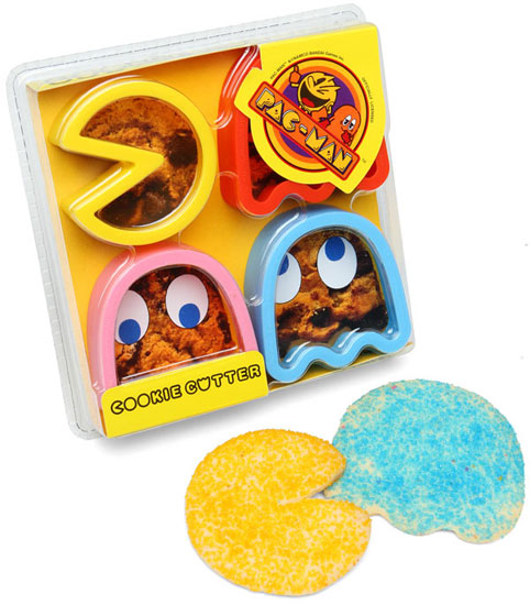 Pac-Man Cookie Cutters ($16)